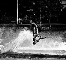 Water Skier by dylanmorse