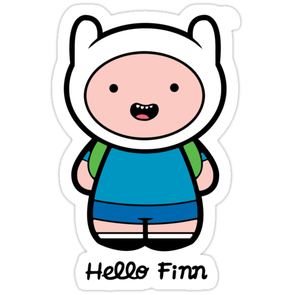 Hello Finn by TeeKetch