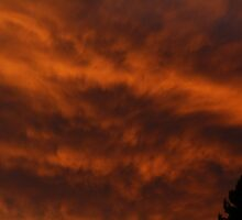Sky on Fire by fototaker