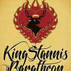 Stannis Baratheon Sigil Poster II by P3RF3KT