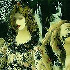 PHOTOMONTAGE ..This painting was created from the maestro Botticelli ,in the year 1482...my visage a few time after !! by anaisanais