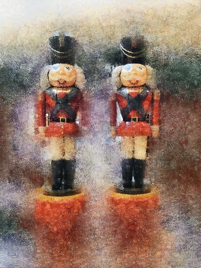 Nutcracker Guards by Bunny Clarke