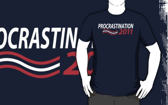 Vote Procrastination by kevlar51