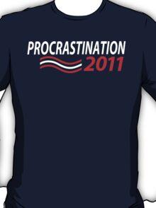 Vote Procrastination T-Shirt