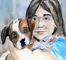 Puppy and Me by Anne Guimond