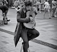 Busker by vilaro Images