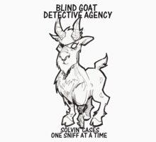BLIND GOAT DETECTIVE AGENCY Kids Clothes