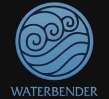 Waterbender (with text) Kids Clothes