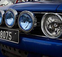 Mini Spotlights car by Paul Boyle