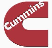 CUMMINS RED Sticker by thatstickerguy