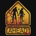 "Caution ""Dead Ahead"" by bungeecow"