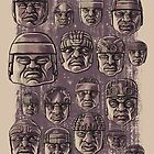 The Olmecs by qetza
