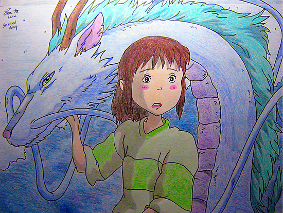 Spirited Away  by meow-or-never10