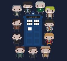 Doctor Who - All Eleven Doctors by afternoonTlight