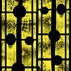 Yellow Abstract by TinaGraphics