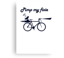 Pimp My Fixie Canvas Print