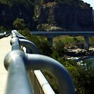 Sea Cliff Bridge by waxyfrog