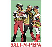THE SHOWSTOPPERS: SALT-N-PEPA Photographic Print