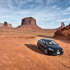 A VW at Monument Valley by James Watkins
