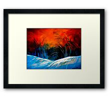 The Winds of Change... Framed Print