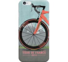 Tour De France Bike iPhone Case/Skin