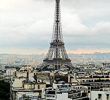 Eiffel Grunge by martinilogic