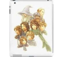 lord of the rings - the fellowship of the ring iPad Case/Skin