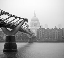 British Weather and St Pauls by RunnyCustard