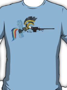 Rainbow Dash with Sniper T-Shirt