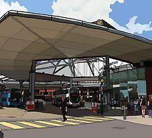 Bus station  by Daisy Brooke