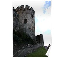 castle tower path Poster
