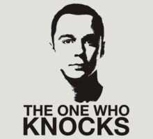 The One Who Knocks: Sheldon Cooper by huckblade