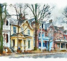 Sydenham Street - Watercolour by PhotosByHealy