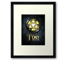 Triforce Reactor Framed Print