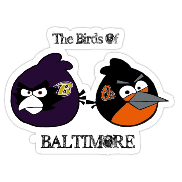 The Birds of Baltimore by taylie27