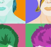 Pop Art Aladdin Sane Bowie Clothing/Sticker Sticker