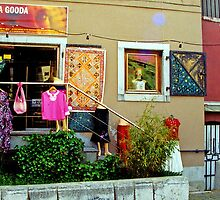 Huda Gooda and Gooda Gooda, Ljubljana, Slovenia by Margaret  Hyde