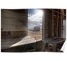 View from the Grain Elevator Poster