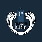 Doctor Who angels TARDIS by nouvellegamine