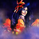 Jack-O-Lantern Witch by Kerri Ann Crau