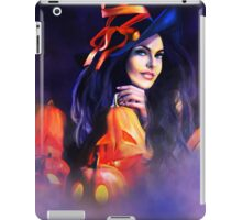 Jack-O-Lantern Witch iPad Case/Skin