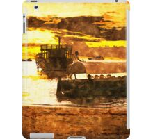 Sunset over Stone Town iPad Case/Skin