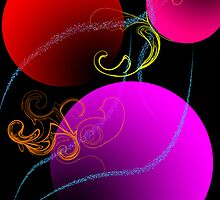 Colored Baubles by Ali Choudhry
