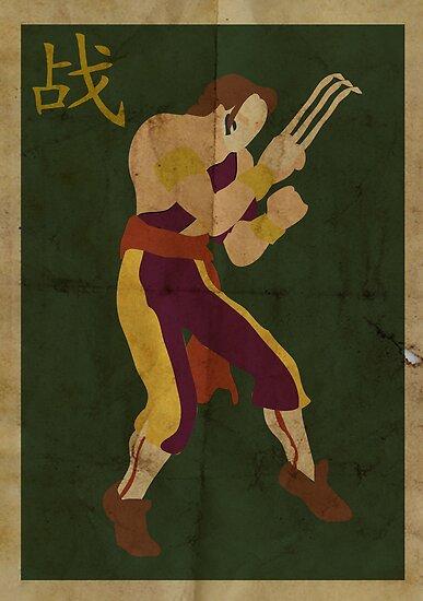 FIGHT: Street Fighter #2: Vega by caseyjennings