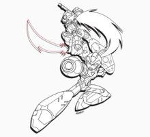Megaman Zero Cross Over by Kennychimaru