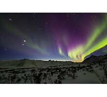 Yukon Northern Lights 3 Photographic Print