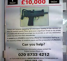 £10,000 Reward by kombizz