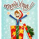 Merry X-mas! Tenth Doctor by nowaitwhat