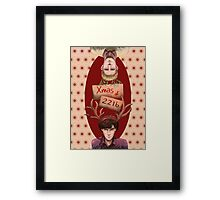 Merry Xmas from 221b Framed Print