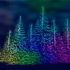 Rainbow trees by Marsea